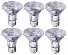 6- NEW Havells 39 Watt PAR20 Halogen High Output replaces 50 W Flood Light Bulbs