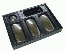 3 Chrome door handle covers per Ford Transit 2000 + MK6 MK7 St. Steel 1042