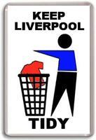 Everton FC, Keep Liverpool Tidy Fridge Magnet Free Postage
