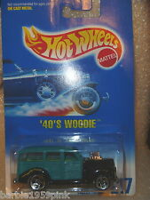Hot Wheels -  '40'S Woodie  New MOC By Mattel