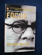 FOCUS by ARTHUR MILLER - SIGNED by ARTHUR MILER - Movie Tie-In Edition