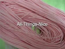 Silk Mix + Nylon Core 100M PINK Jewellery Making Beading Cord String 1mm Thread