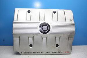 Cadillac Seville 4.6 SLS V8 Motorabdeckung abdeckung Emblem engine cover