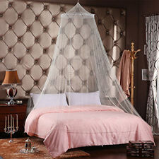 1Pc Elegant Round Lace Insect Bed Canopy Netting Curtain Dome Mosquito Net White