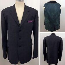 """PAUL SMITH LONDON """"River Thames"""" Size UK 44 EU 54 Men's Grey Wool Blazer Jacket"""