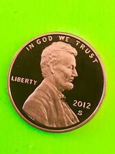 In Stock -2012 S PROOF LINCOLN Cent Penny - Ultra cameo Low Mintage