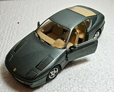 Burago Ferrari 456 GT 1992 Die Cast Car Model Scale 1:25 Made in Italy