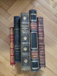 Lot De 5 Livres Anciens
