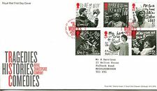 Royal Mail fdc 2011 Royal Shakespeare Company, All the world pk
