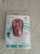 Logitech Wireless Mouse M305 Red
