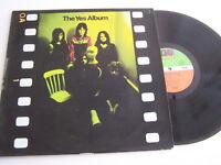 LP 33 TOURS VINYLE , THE YES ALBUM  . VG / EX .