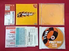 Crazy Taxi - SEGA - DC - DREAMCAST - MUY BUEN ESTADO ( japonés )