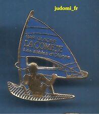 Pin's pin PLANCHE A VOILE BAR GLACIER LA COMETE LES SABLES D'OLONNES (ref 044)