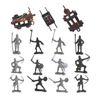 Soldiers Figures Knights Medieval Ancient Soldier Model Toy for Kids Adults
