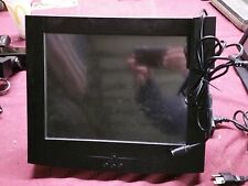 """15"""" POS Touch Screen Monitor with Card Swipe w/Wall Mount - Untested"""