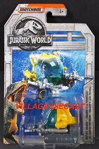 2018 Matchbox Jurassic World™ #10 Deep-Dive Submarine™ YELLOW / MOC