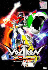 DVD ANIME VOLTRON FORCE Vol.1-26 End ~ENGLISH DUBBED~ Region All + FREE DVD