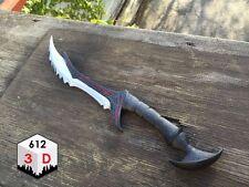 Daedric Dagger Skyrim Inspired Replica / 3-D Printed / Cosplay / Prop
