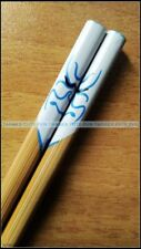 Chinese Japanese Traditional Chopsticks - Kabuki Japanese Opera Man in Blue Face