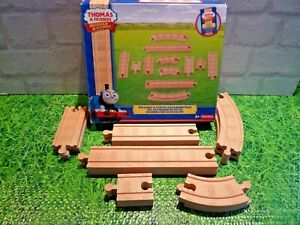 Fisher price Thomas and friends Wooden Railway extension track complete & boxed