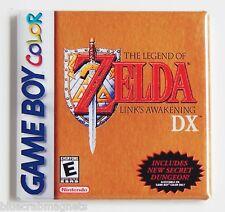 Legend of Zelda Link's Awakening FRIDGE MAGNET (2 x 2 inches) video game box