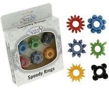 6 cockring Spoody Thirty Five colorés Spoody Toys