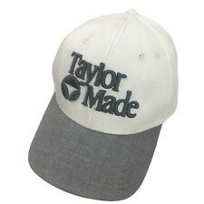 Taylor Made Golf Ball Cap Hat Fitted S/M Baseball