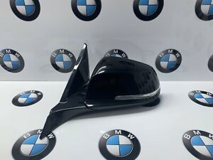 OEM BMW 1 SERIES F21 3 DOOR Wing Mirror Passenger Sapphire Black 6 PIN 7268539