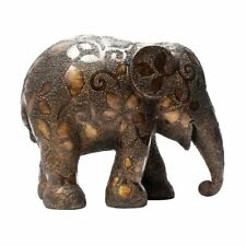 More details for elephant parade ornament collectable limited edition golden clovers