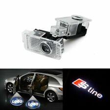 AOSTA 4-Pack Audi LED Proiettore per portiera per auto Luci di cortesia LED Laser Luci di benvenuto Ghost Shadow Light Logo Lampade compatibili con Audi A4 A3 A6 Q7 Q5 A1 A5 TT A8 Q3 A7 R8 RS ect
