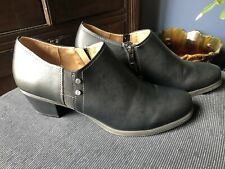 Womens  Naturalizer Black Mule Shoes 10 M EXC Cond. Free Shipping!