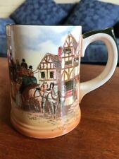 Vintage Royal Doulton Old English Coaching Scenes Mug Tankard D6393