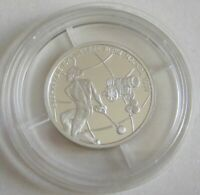 Russia 1 Rouble 1998 World Youth Games in Moscow Hammer Throw 1/4 Oz Silver