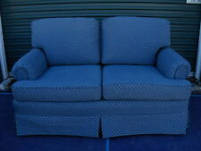 """Rare Vintage Love Seat-Slate Blue-Pennsylvania House """"Consensus 50"""" Couch Settee"""