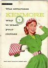 Vintage Retro Kenmore Automatic Washer Owners Manual & GE Wringer Washer Manual photo