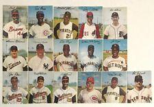 1983 Starliner Dexter Press All-Star Set  Mantle, Aaron, Mays, Clemente, Yaz
