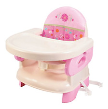 High Chair Booster Seat For Toddlers Infant Portable Baby Traveling Girls Pink
