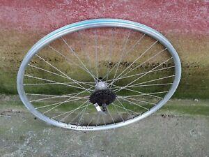 ROUE JANTE ARRIERE ALU 622 VELO VINTAGE BICYCLE  old bike