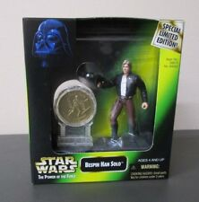 Bespin Han Solo w Coin STAR WARS Power of the Force POTF Special Limited Edition