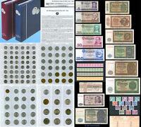 Große DDR-Sammlung *** Das Geld der DDR 1948-1990, im Album !