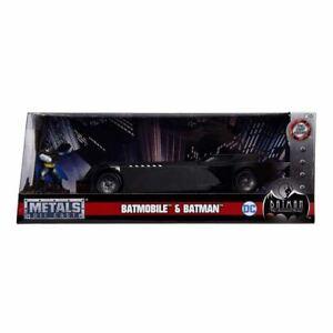 Batman: The Animated Series Jada Metals Die Cast 1/24 Scale Batmobile & Batman