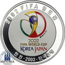 Korea 10000 WON 2002 Silber PP Fussball / FIFA Worldcup: Korea - Japan Jeonju