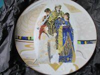"BIBLICAL MOTHERS EVA LICEA COLLECTOR PLATE ""THE JUDGMENT OF SOLOMON"" NIB [*4]"