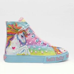 Lelli Kelly Sneaker Unicorn Mid Celeste Bambina