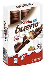 FERRERO - Kinder Bueno - 6 pcs - German Production