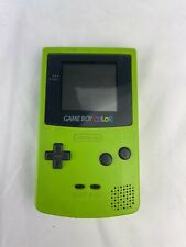 Nintendo Game Boy Color Dandelion Yellow Handheld System Missing Battery Cover