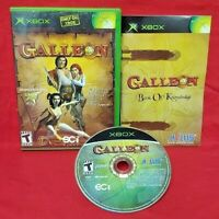 Galleon - Atlus - XBOX OG Rare Game - COMPLETE  - Tested + Working