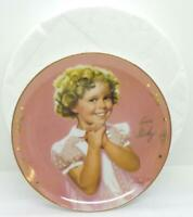 "Shirley Temple Precious by Donald Zolan Limited Edition Plate 8"" Danbury Mint"