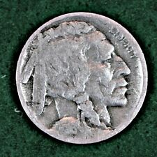 1916-D INDIAN HEAD (BUFFALO) NICKEL in GOOD (G) CONDITION