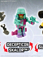 SKALOR Transformers Kre-o Micro-Changers Age Extinction Series 2 Kreon Seacon